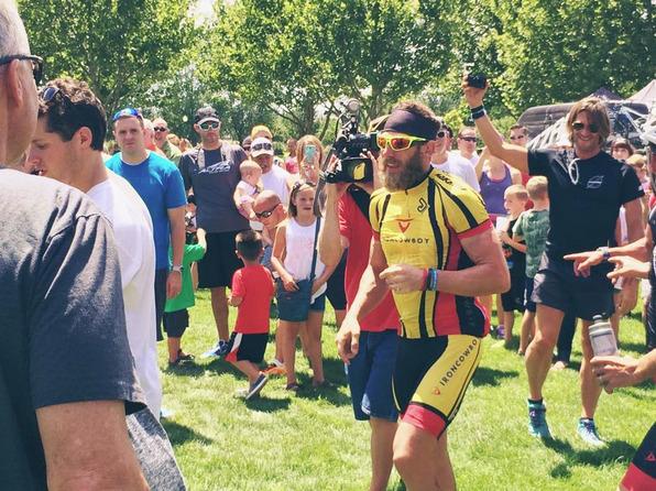50 Ironman за 50 дней: он пробежал 2 тысячи километров